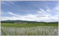 なつかし〜!蒸気機関車や日本の原風景を堪能