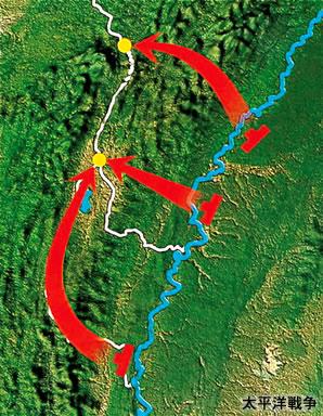 インパール作戦地図 インパール作戦地図 無謀な山越えを強いられたインパール作戦などの さらに 当
